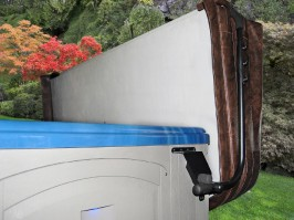 Spa Hot Tub cover lifter systems